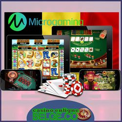 Casinos belges Microgaming
